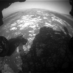 Nasa's Mars rover Curiosity acquired this image using its Front Hazard Avoidance Camera (Front Hazcam) on Sol 2786, at drive 264, site number 80