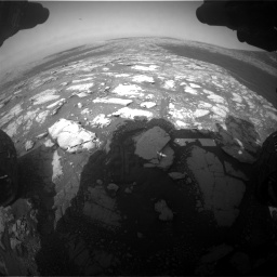 Nasa's Mars rover Curiosity acquired this image using its Front Hazard Avoidance Camera (Front Hazcam) on Sol 2786, at drive 156, site number 80