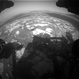 Nasa's Mars rover Curiosity acquired this image using its Front Hazard Avoidance Camera (Front Hazcam) on Sol 2786, at drive 168, site number 80