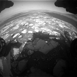 Nasa's Mars rover Curiosity acquired this image using its Front Hazard Avoidance Camera (Front Hazcam) on Sol 2786, at drive 180, site number 80