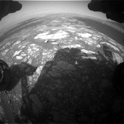Nasa's Mars rover Curiosity acquired this image using its Front Hazard Avoidance Camera (Front Hazcam) on Sol 2786, at drive 204, site number 80