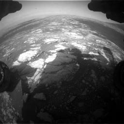 Nasa's Mars rover Curiosity acquired this image using its Front Hazard Avoidance Camera (Front Hazcam) on Sol 2786, at drive 216, site number 80