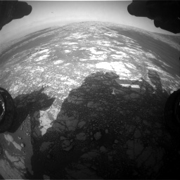 Nasa's Mars rover Curiosity acquired this image using its Front Hazard Avoidance Camera (Front Hazcam) on Sol 2786, at drive 228, site number 80
