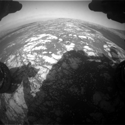 Nasa's Mars rover Curiosity acquired this image using its Front Hazard Avoidance Camera (Front Hazcam) on Sol 2786, at drive 276, site number 80