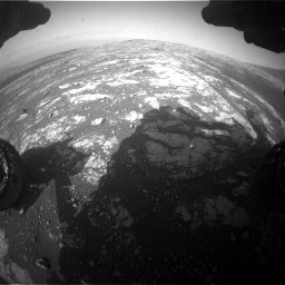 Nasa's Mars rover Curiosity acquired this image using its Front Hazard Avoidance Camera (Front Hazcam) on Sol 2786, at drive 306, site number 80