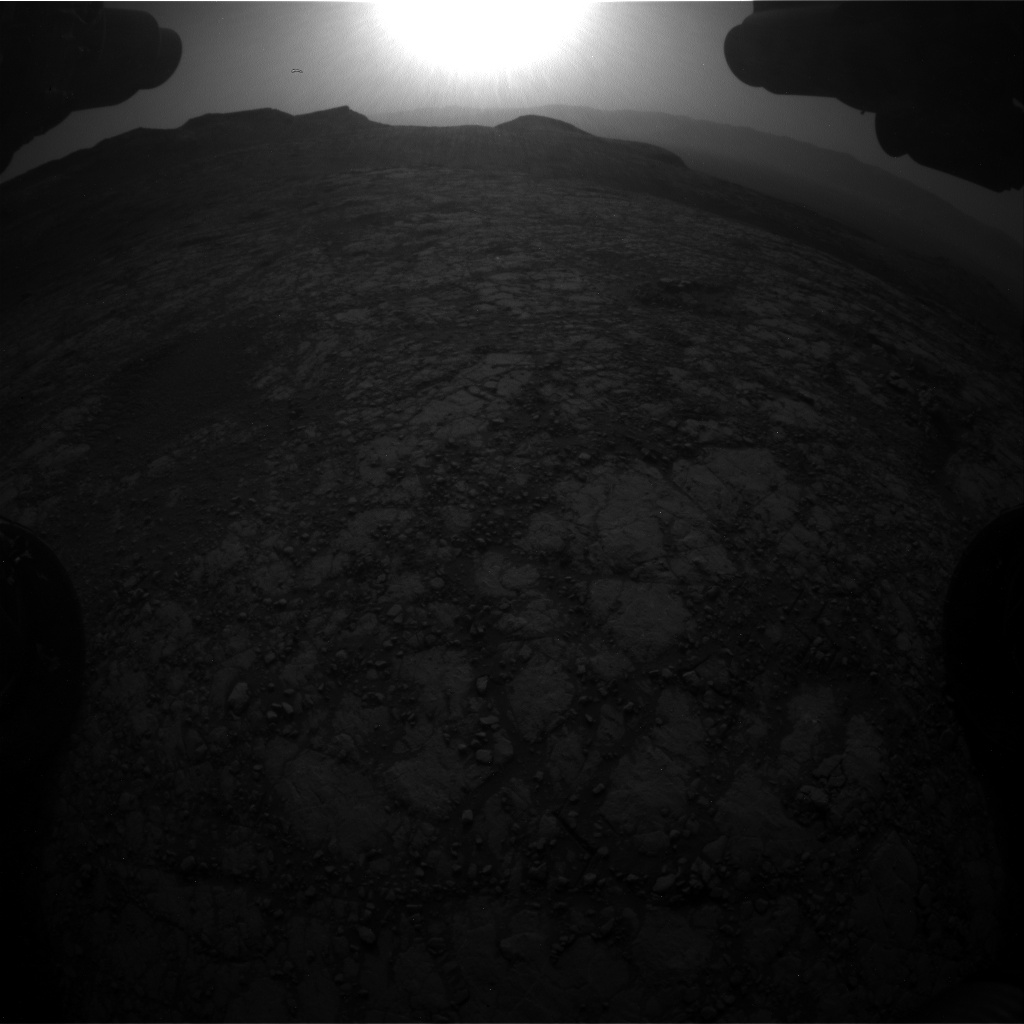 Nasa's Mars rover Curiosity acquired this image using its Front Hazard Avoidance Camera (Front Hazcam) on Sol 2786, at drive 418, site number 80