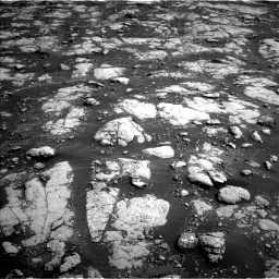 Nasa's Mars rover Curiosity acquired this image using its Left Navigation Camera on Sol 2786, at drive 96, site number 80