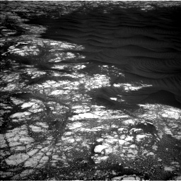 Nasa's Mars rover Curiosity acquired this image using its Left Navigation Camera on Sol 2786, at drive 216, site number 80