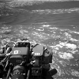 Nasa's Mars rover Curiosity acquired this image using its Left Navigation Camera on Sol 2786, at drive 228, site number 80