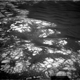 Nasa's Mars rover Curiosity acquired this image using its Left Navigation Camera on Sol 2786, at drive 240, site number 80