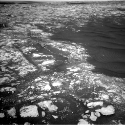 Nasa's Mars rover Curiosity acquired this image using its Left Navigation Camera on Sol 2786, at drive 276, site number 80