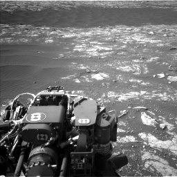 Nasa's Mars rover Curiosity acquired this image using its Left Navigation Camera on Sol 2786, at drive 306, site number 80