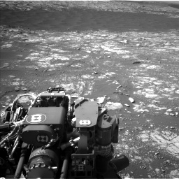 Nasa's Mars rover Curiosity acquired this image using its Left Navigation Camera on Sol 2786, at drive 318, site number 80
