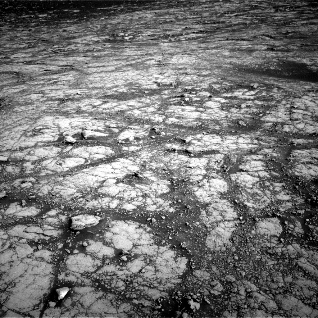 Nasa's Mars rover Curiosity acquired this image using its Left Navigation Camera on Sol 2786, at drive 408, site number 80