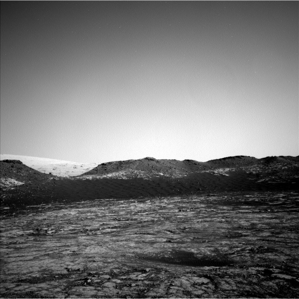 Nasa's Mars rover Curiosity acquired this image using its Left Navigation Camera on Sol 2786, at drive 418, site number 80