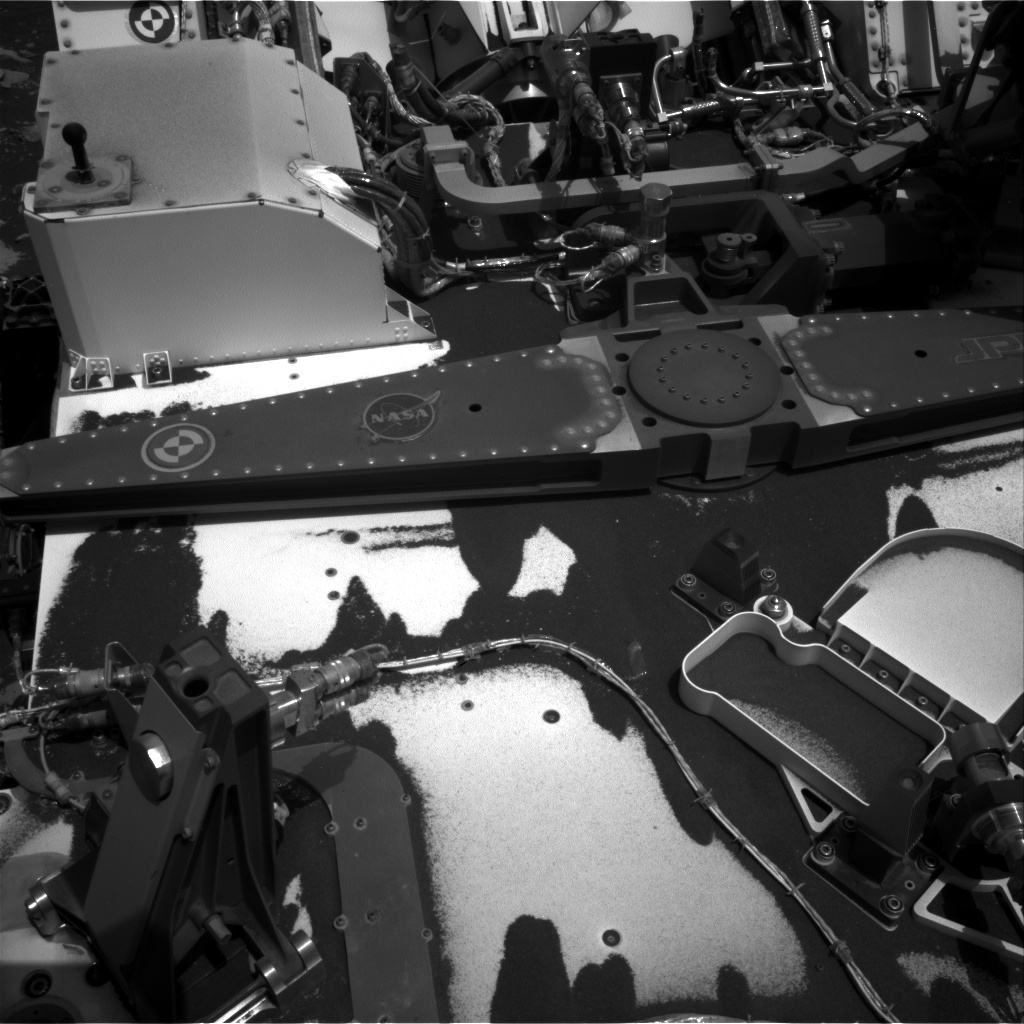 Nasa's Mars rover Curiosity acquired this image using its Right Navigation Camera on Sol 2786, at drive 0, site number 80