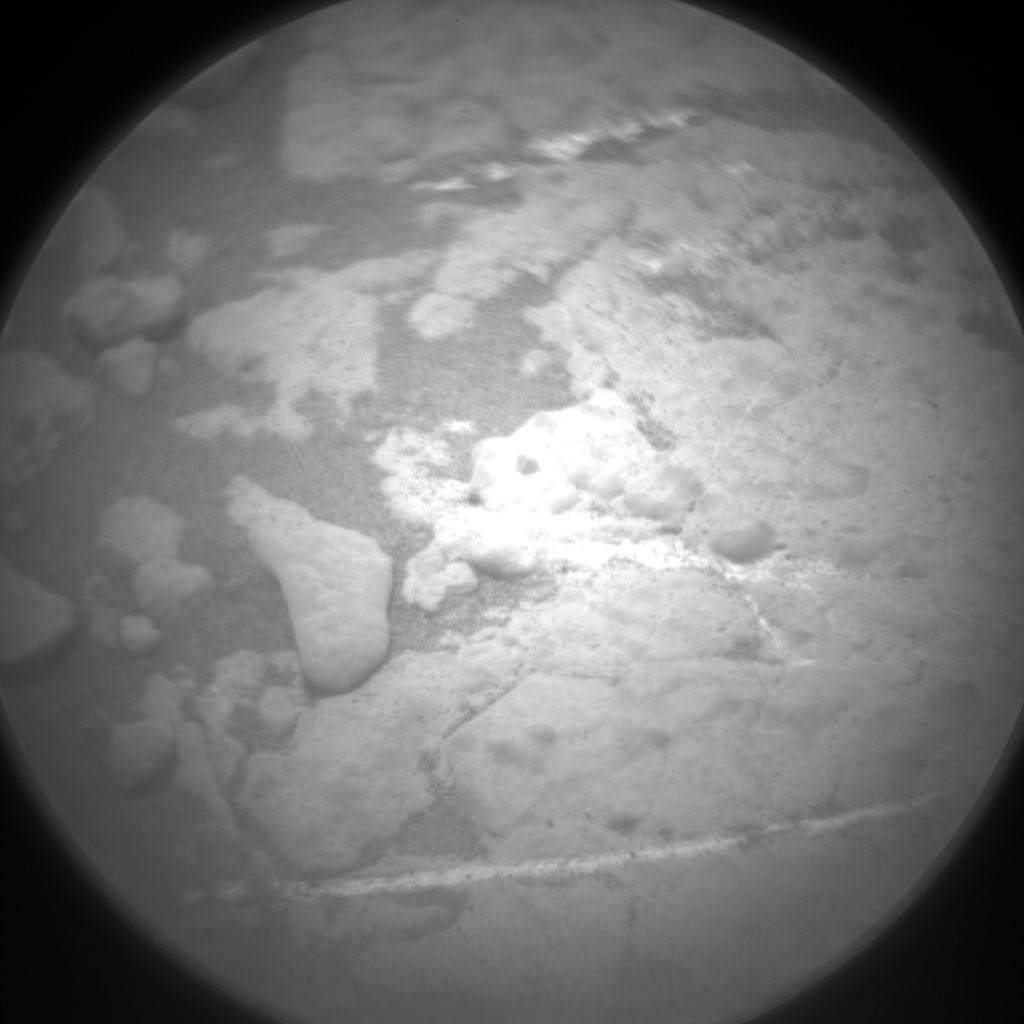 Nasa's Mars rover Curiosity acquired this image using its Chemistry & Camera (ChemCam) on Sol 2787, at drive 418, site number 80