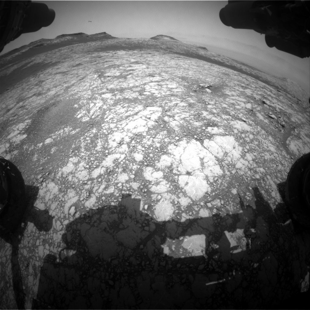 Nasa's Mars rover Curiosity acquired this image using its Front Hazard Avoidance Camera (Front Hazcam) on Sol 2787, at drive 418, site number 80