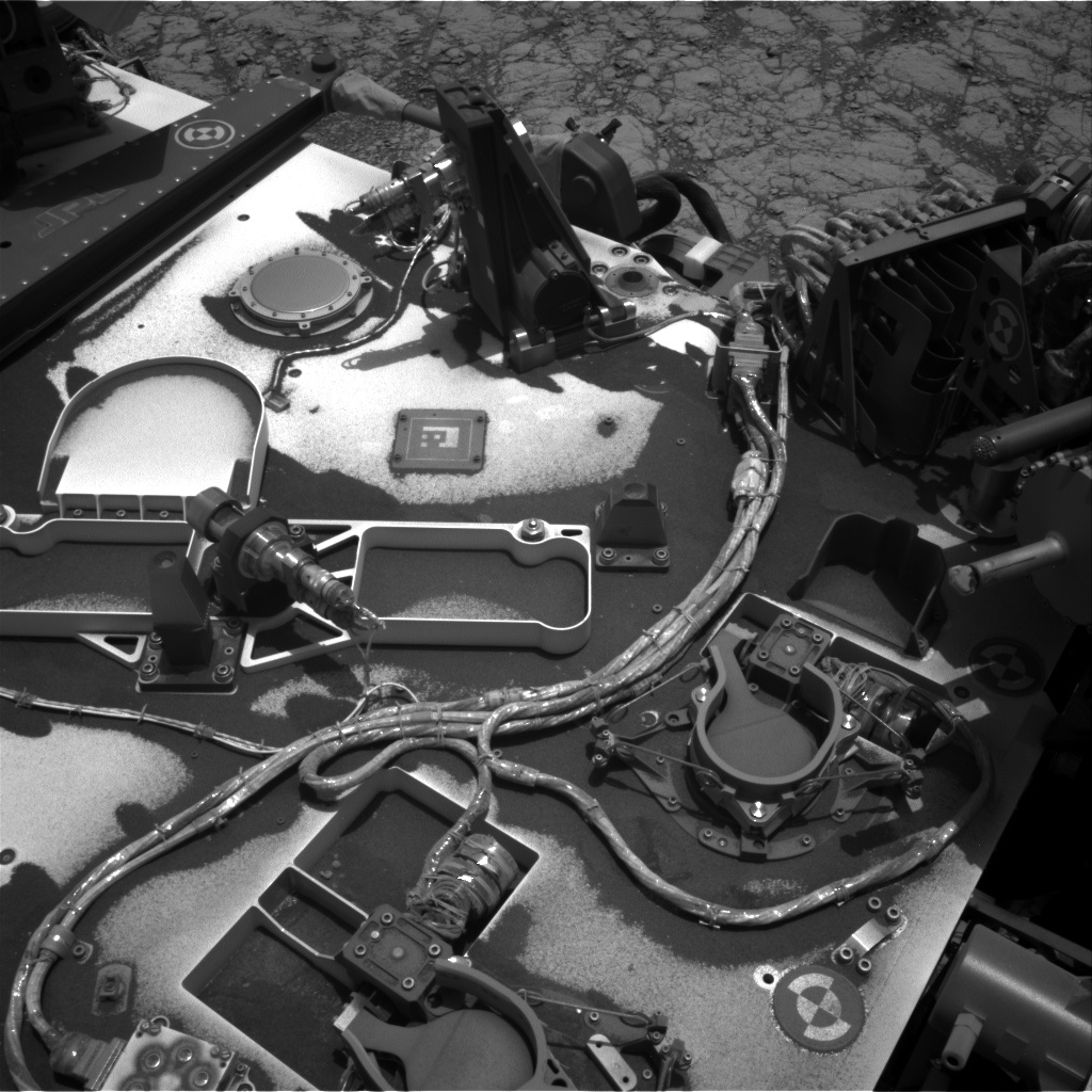 Nasa's Mars rover Curiosity acquired this image using its Right Navigation Camera on Sol 2787, at drive 418, site number 80