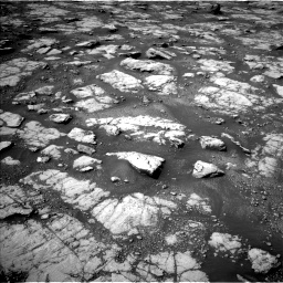 Nasa's Mars rover Curiosity acquired this image using its Left Navigation Camera on Sol 2788, at drive 556, site number 80