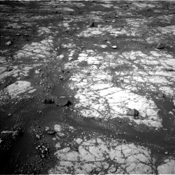 Nasa's Mars rover Curiosity acquired this image using its Left Navigation Camera on Sol 2788, at drive 688, site number 80