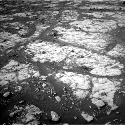 Nasa's Mars rover Curiosity acquired this image using its Left Navigation Camera on Sol 2788, at drive 790, site number 80