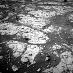 Nasa's Mars rover Curiosity acquired this image using its Left Navigation Camera on Sol 2788, at drive 796, site number 80