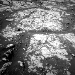 Nasa's Mars rover Curiosity acquired this image using its Left Navigation Camera on Sol 2788, at drive 820, site number 80