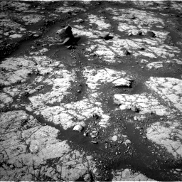 Nasa's Mars rover Curiosity acquired this image using its Left Navigation Camera on Sol 2788, at drive 856, site number 80