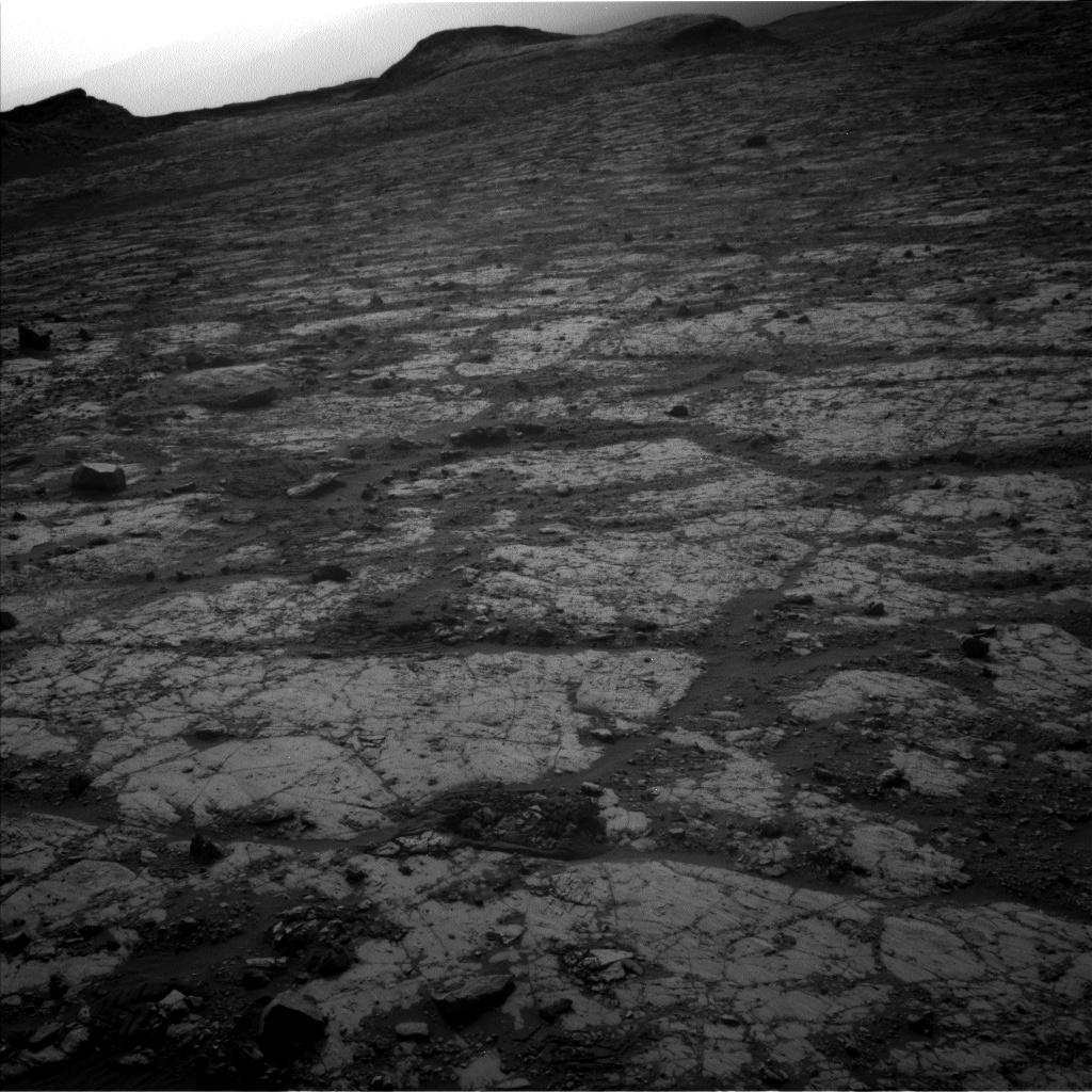 Nasa's Mars rover Curiosity acquired this image using its Left Navigation Camera on Sol 2788, at drive 902, site number 80