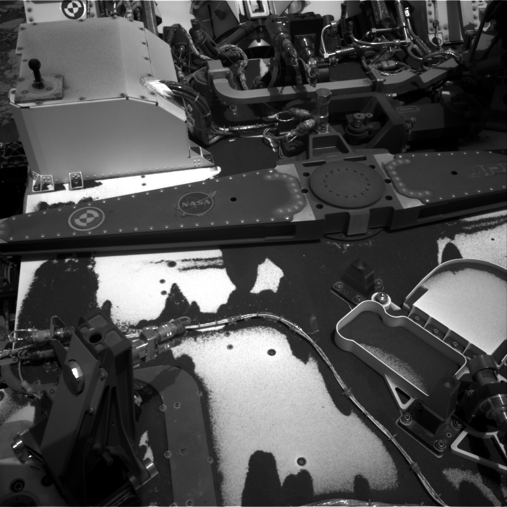 Nasa's Mars rover Curiosity acquired this image using its Right Navigation Camera on Sol 2788, at drive 418, site number 80