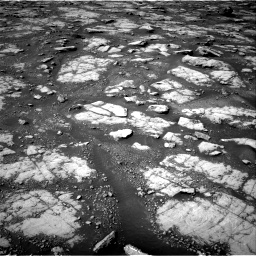 Nasa's Mars rover Curiosity acquired this image using its Right Navigation Camera on Sol 2788, at drive 544, site number 80