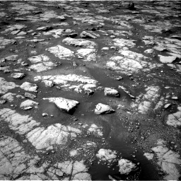 Nasa's Mars rover Curiosity acquired this image using its Right Navigation Camera on Sol 2788, at drive 556, site number 80