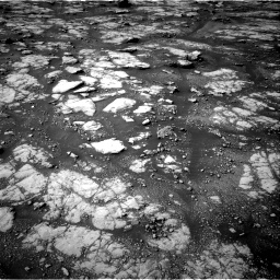 Nasa's Mars rover Curiosity acquired this image using its Right Navigation Camera on Sol 2788, at drive 574, site number 80