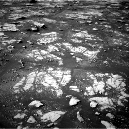 Nasa's Mars rover Curiosity acquired this image using its Right Navigation Camera on Sol 2788, at drive 586, site number 80