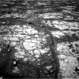 Nasa's Mars rover Curiosity acquired this image using its Right Navigation Camera on Sol 2788, at drive 700, site number 80