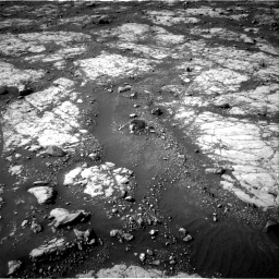 Nasa's Mars rover Curiosity acquired this image using its Right Navigation Camera on Sol 2788, at drive 760, site number 80