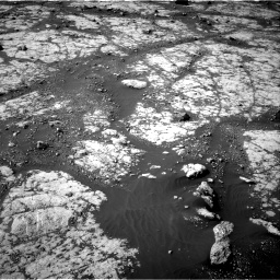 Nasa's Mars rover Curiosity acquired this image using its Right Navigation Camera on Sol 2788, at drive 808, site number 80