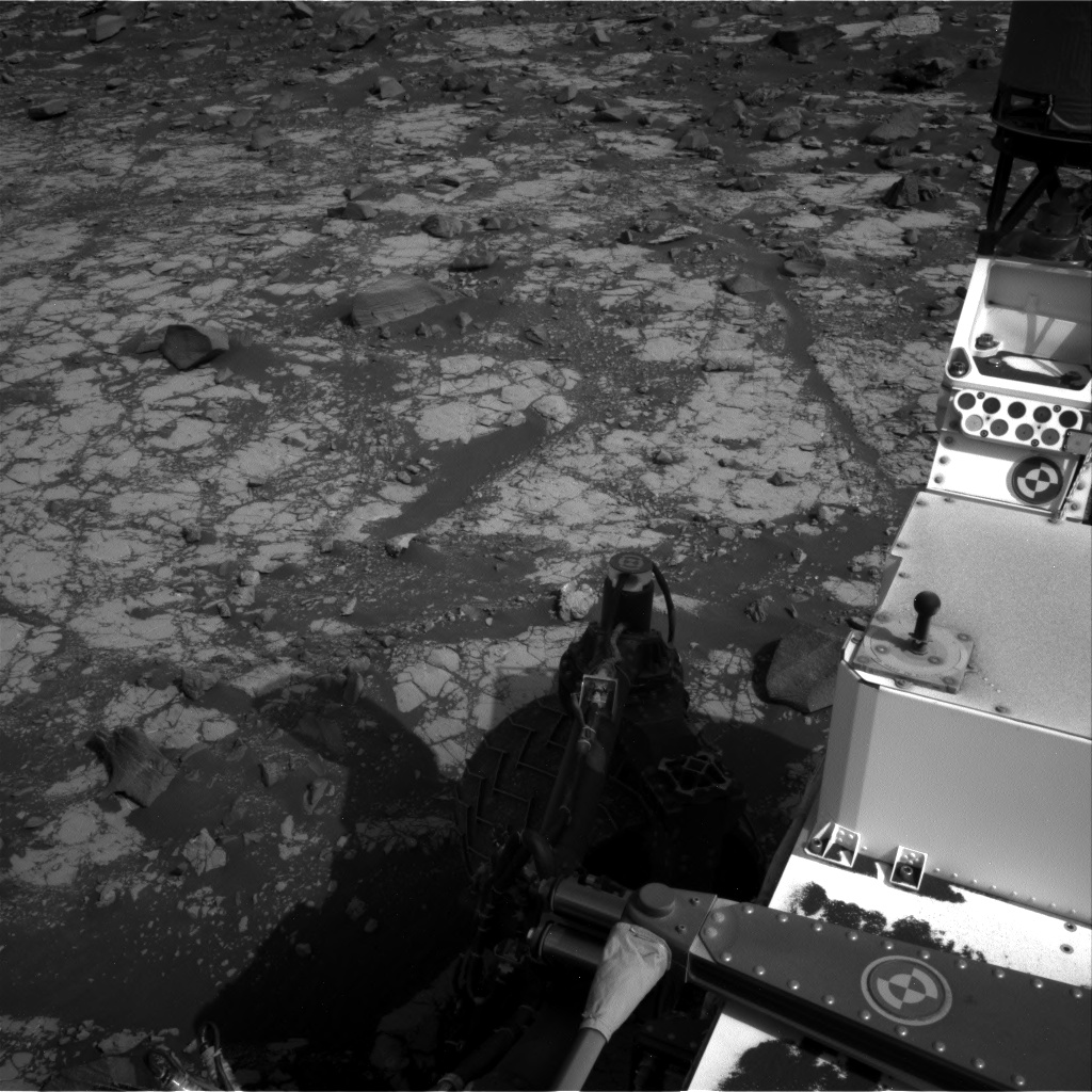 Nasa's Mars rover Curiosity acquired this image using its Right Navigation Camera on Sol 2788, at drive 850, site number 80