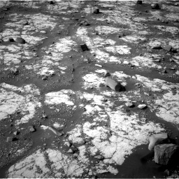 Nasa's Mars rover Curiosity acquired this image using its Right Navigation Camera on Sol 2788, at drive 874, site number 80
