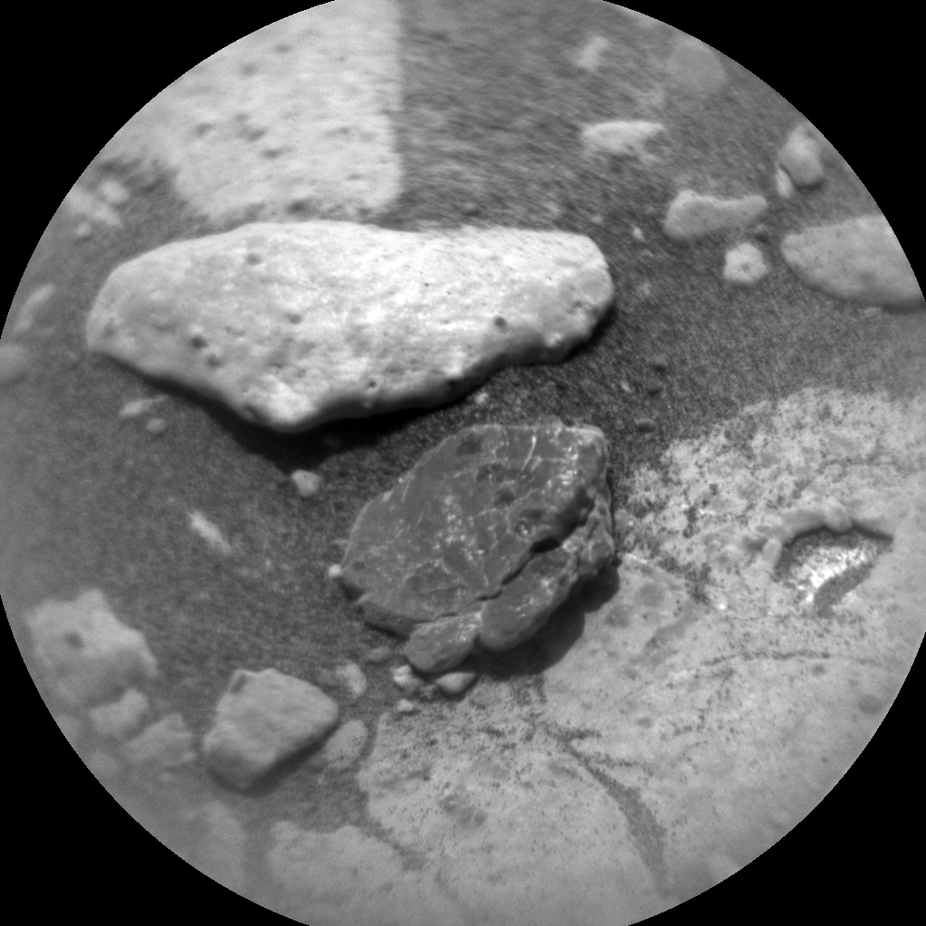 Nasa's Mars rover Curiosity acquired this image using its Chemistry & Camera (ChemCam) on Sol 2788, at drive 418, site number 80