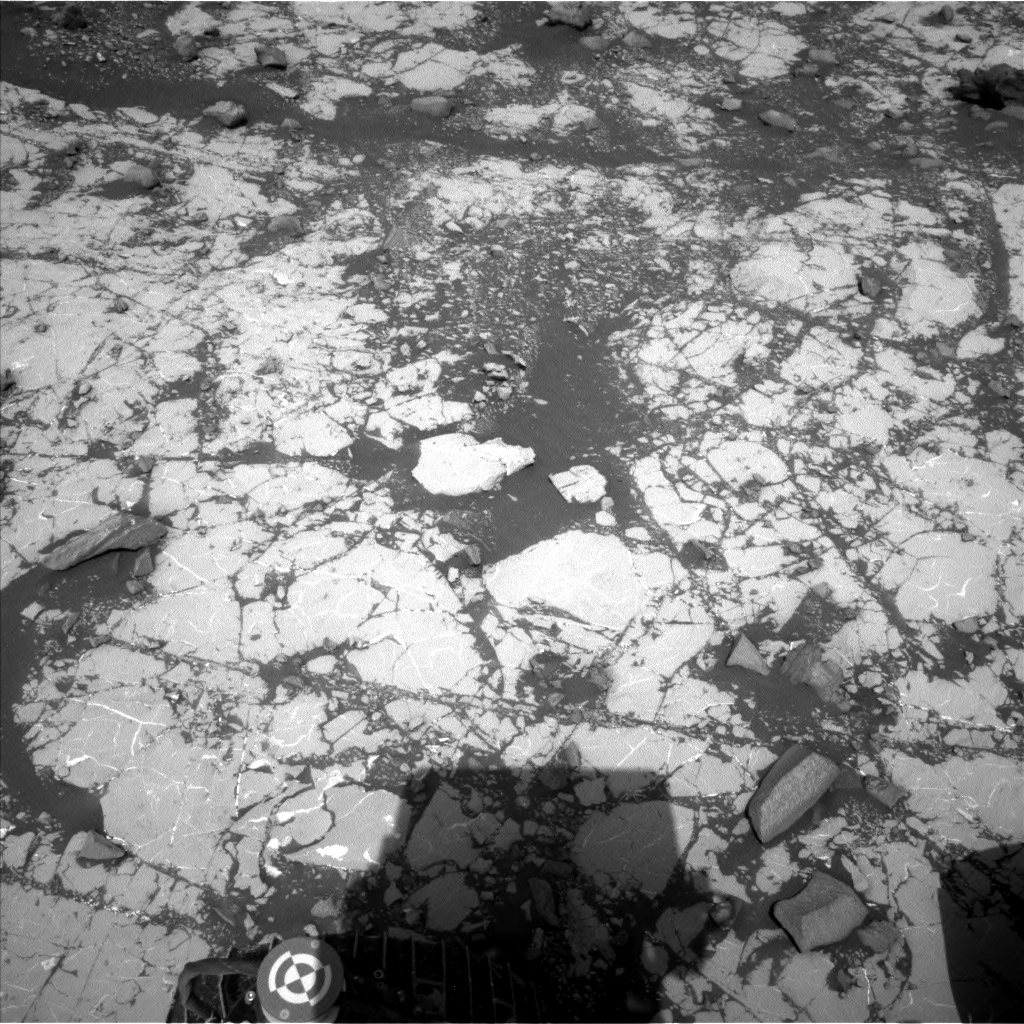 Nasa's Mars rover Curiosity acquired this image using its Left Navigation Camera on Sol 2789, at drive 902, site number 80