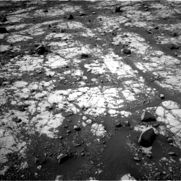 Nasa's Mars rover Curiosity acquired this image using its Left Navigation Camera on Sol 2790, at drive 956, site number 80