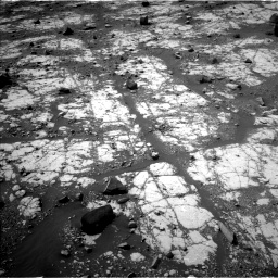 Nasa's Mars rover Curiosity acquired this image using its Left Navigation Camera on Sol 2790, at drive 962, site number 80