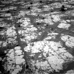Nasa's Mars rover Curiosity acquired this image using its Left Navigation Camera on Sol 2790, at drive 968, site number 80