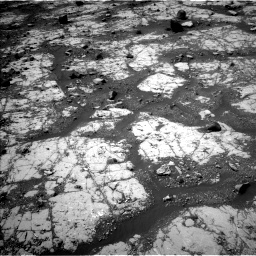 Nasa's Mars rover Curiosity acquired this image using its Left Navigation Camera on Sol 2790, at drive 974, site number 80