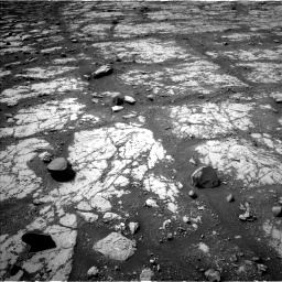 Nasa's Mars rover Curiosity acquired this image using its Left Navigation Camera on Sol 2790, at drive 1022, site number 80