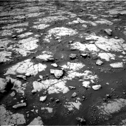 Nasa's Mars rover Curiosity acquired this image using its Left Navigation Camera on Sol 2790, at drive 1076, site number 80