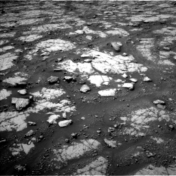 Nasa's Mars rover Curiosity acquired this image using its Left Navigation Camera on Sol 2790, at drive 1082, site number 80