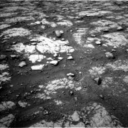 Nasa's Mars rover Curiosity acquired this image using its Left Navigation Camera on Sol 2790, at drive 1088, site number 80